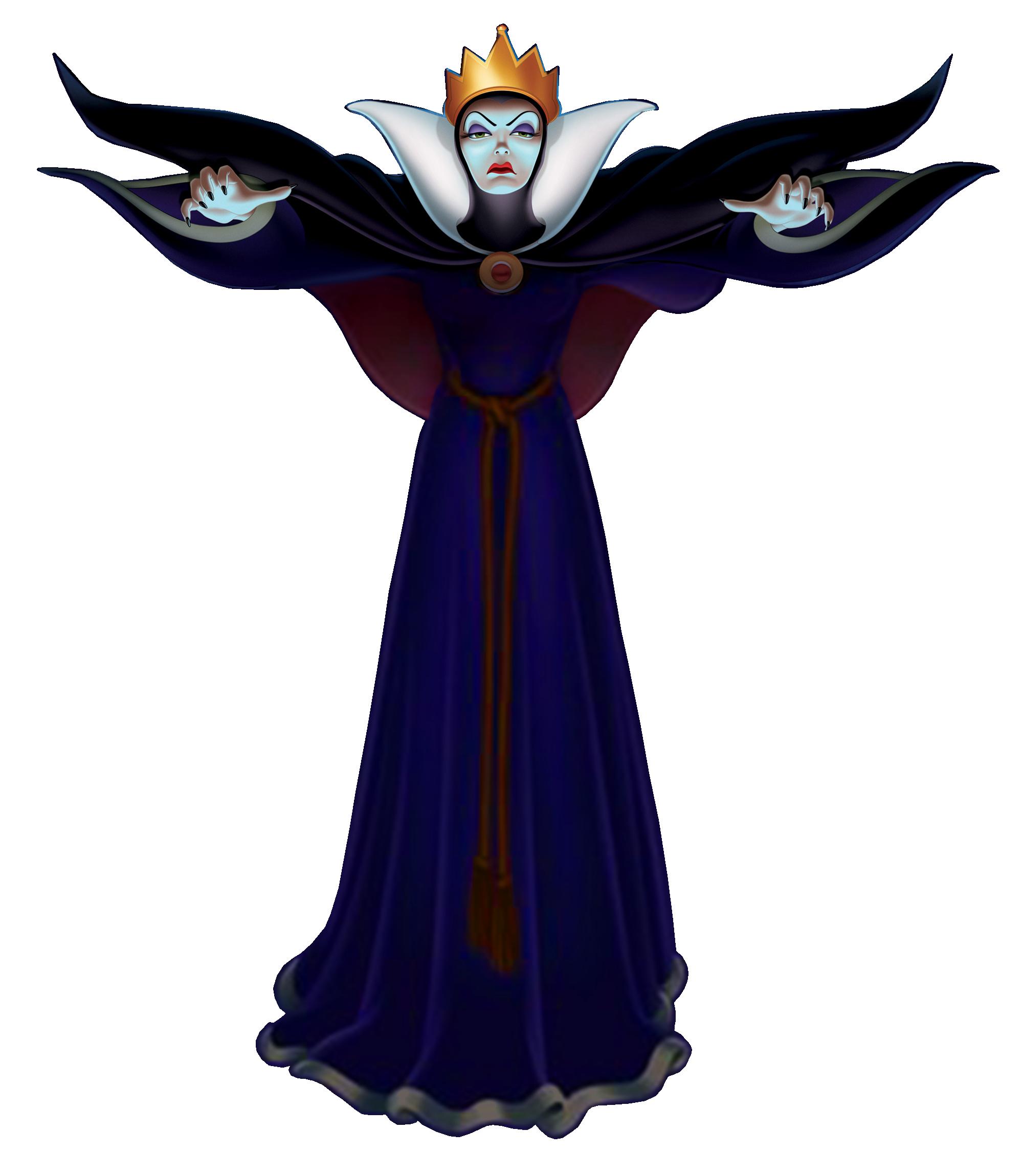 Evil Queen PNG Transparent Image SVG Clip arts
