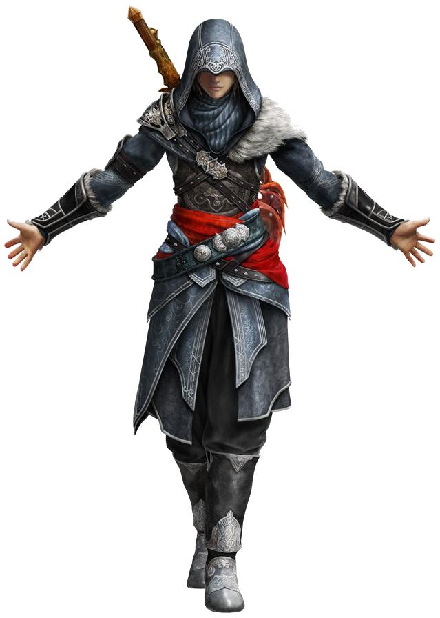 Ezio Auditore PNG Transparent SVG Clip arts