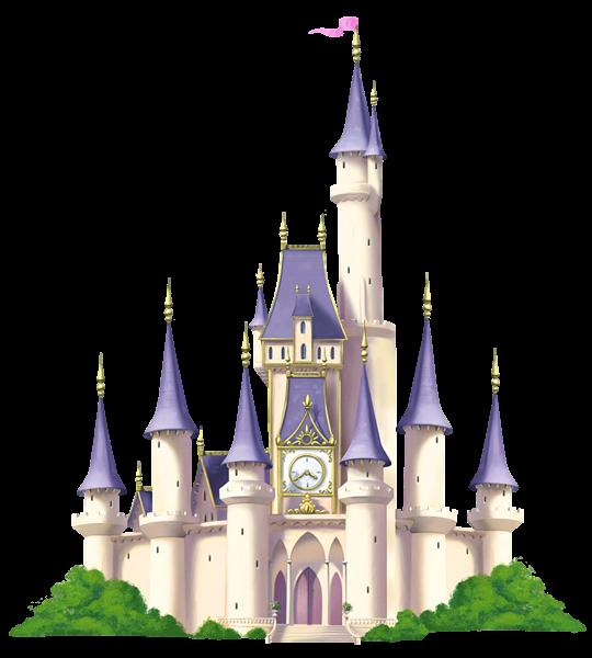 Fairytale Castle Transparent Background SVG Clip arts