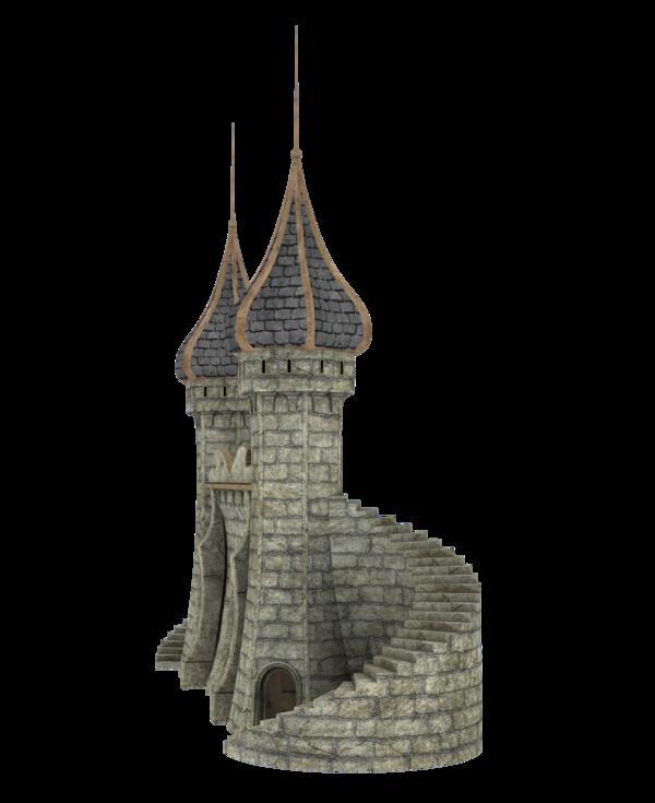 Fantasy Castle PNG Image SVG Clip arts