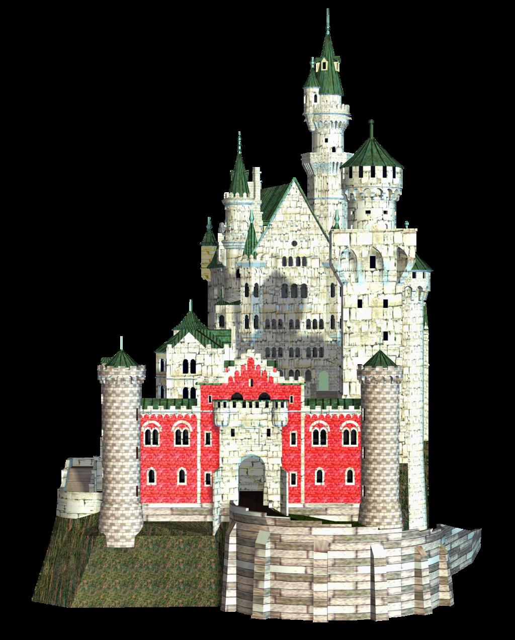 Fantasy Castle PNG Transparent Image SVG Clip arts