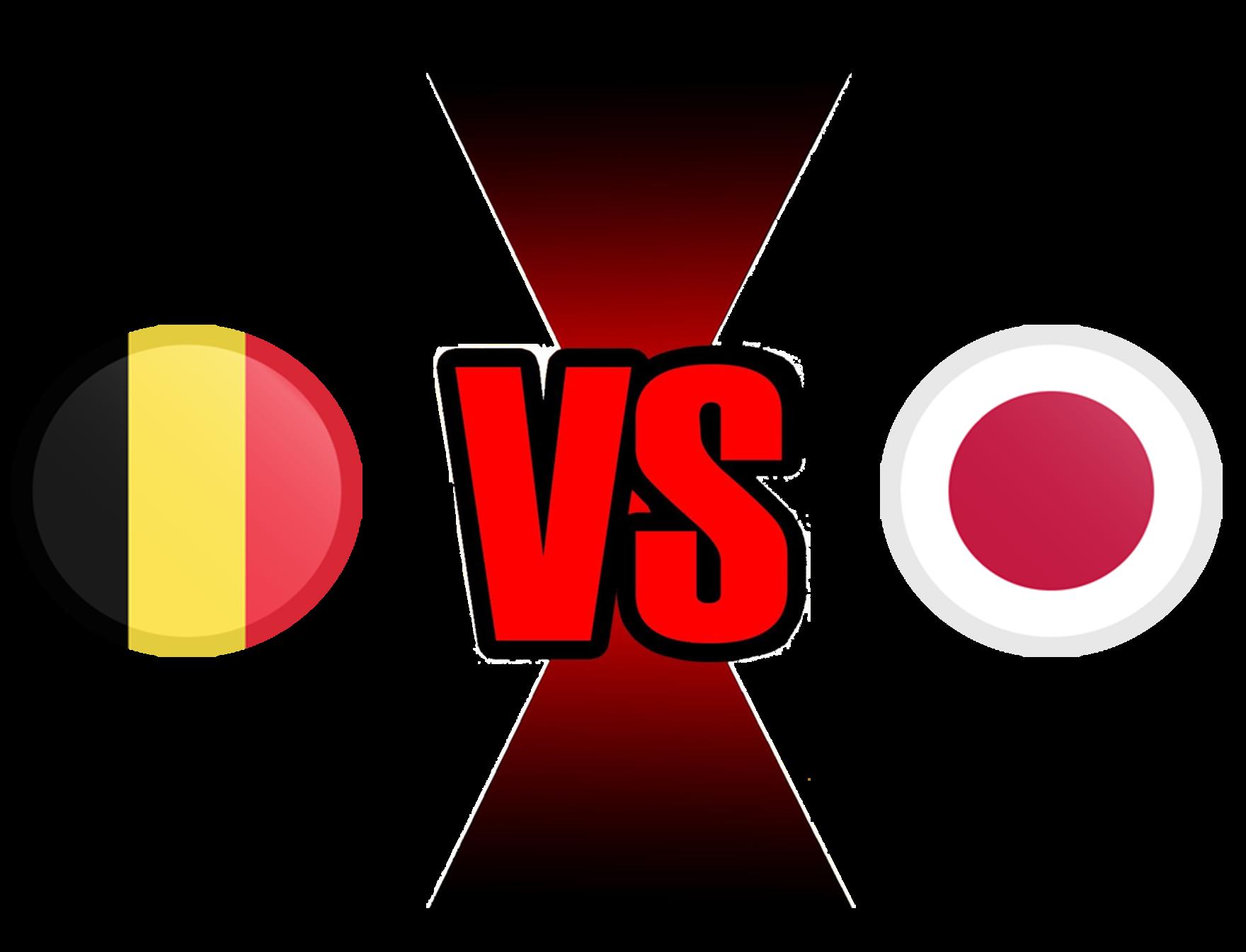 FIFA World Cup 2018 Belgium VS Japan PNG File SVG Clip arts