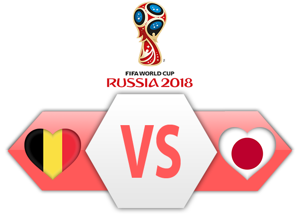 FIFA World Cup 2018 Belgium VS Japan PNG Image SVG Clip arts