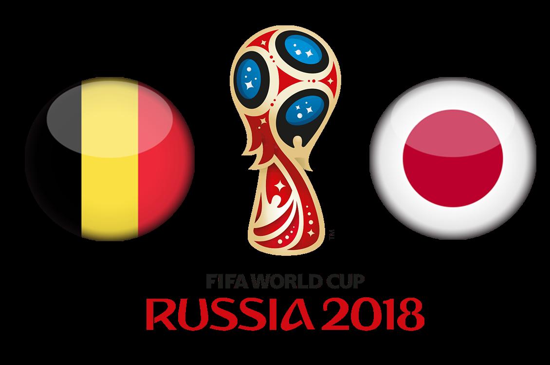 FIFA World Cup 2018 Belgium VS Japan PNG Transparent Image SVG Clip arts