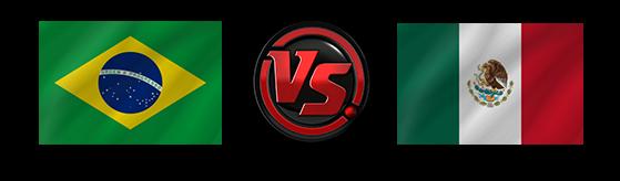FIFA World Cup 2018 Brazil VS Mexico PNG File SVG Clip arts