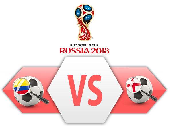 FIFA World Cup 2018 Colombia VS England PNG Clipart SVG Clip arts