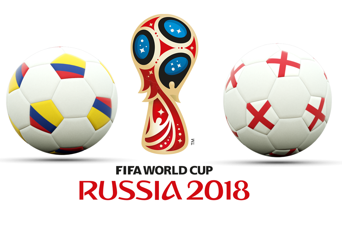 FIFA World Cup 2018 Colombia VS England PNG Photos SVG Clip arts