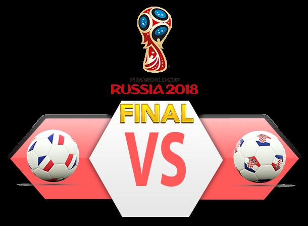 FIFA World Cup 2018 Final Match France VS Croatia PNG Clipart SVG Clip arts