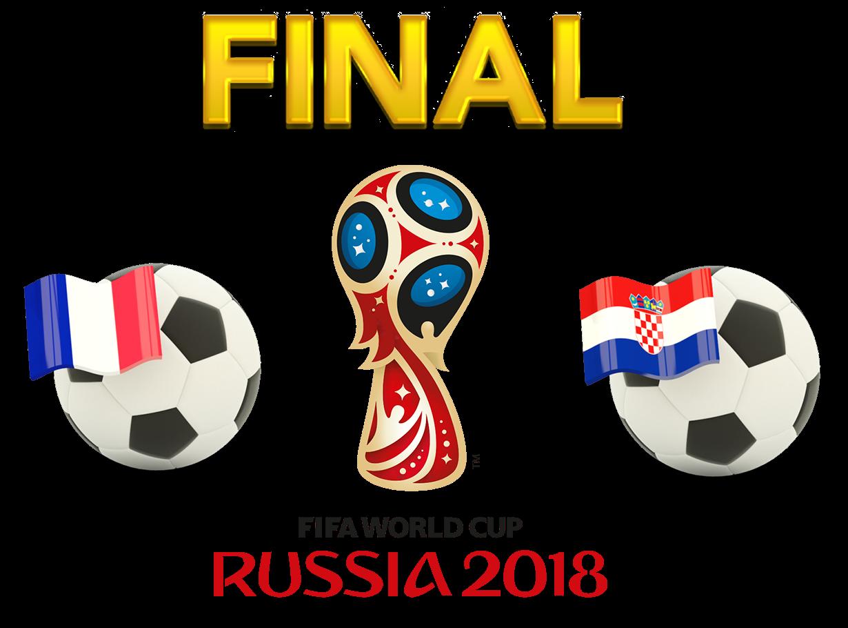 FIFA World Cup 2018 Final Match France VS Croatia PNG Photos SVG Clip arts