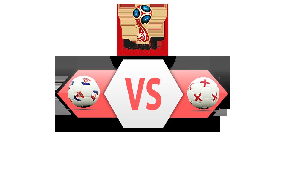 FIFA World Cup 2018 Semi-Finals Croatia VS England PNG Clipart SVG Clip arts