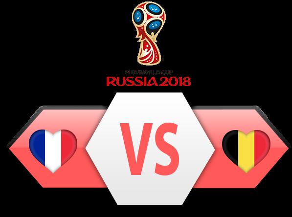 FIFA World Cup 2018 Semi-Finals France VS Belgium PNG Clipart SVG Clip arts