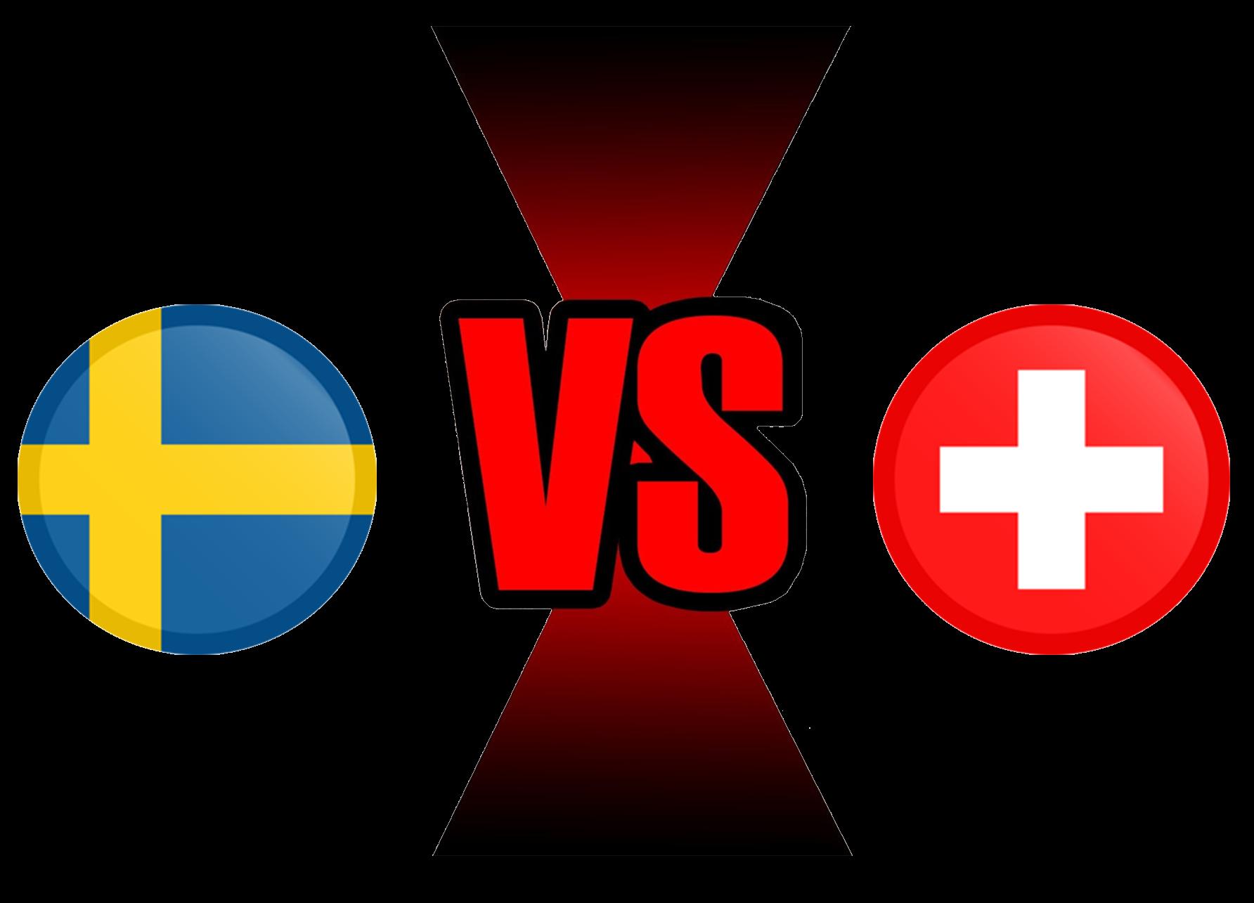 FIFA World Cup 2018 Sweden VS Switzerland PNG File SVG Clip arts