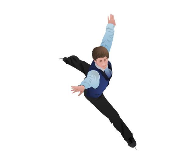 Figure Skating PNG Photo SVG Clip arts