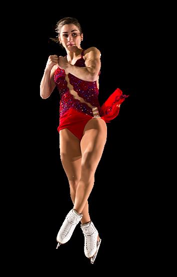 Figure Skating Transparent Background SVG Clip arts