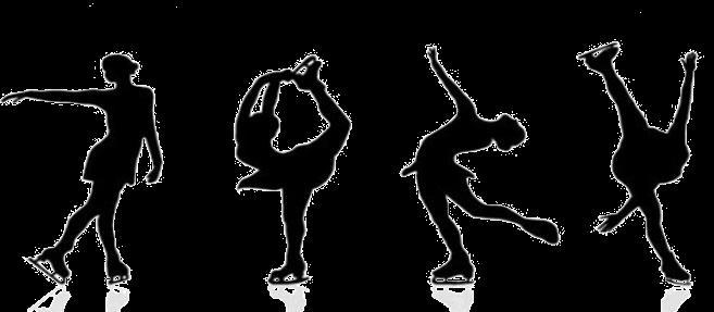 Figure Skating Transparent PNG SVG Clip arts