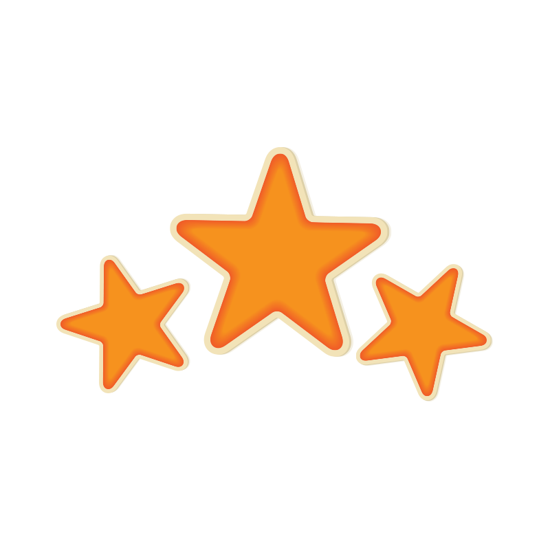 Floating Stars PNG Clipart SVG Clip arts