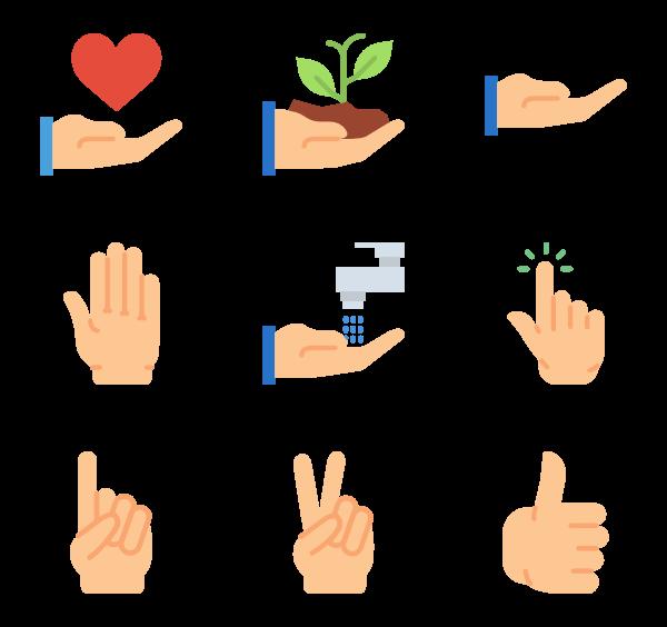 Gesture PNG Clipart SVG Clip arts