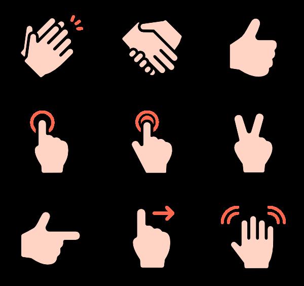 Gesture PNG Image SVG Clip arts
