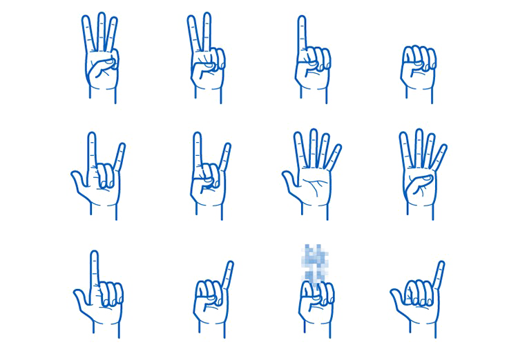 Gesture PNG Picture SVG Clip arts