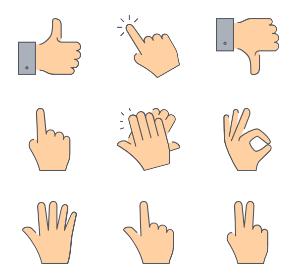 Gesture Transparent PNG PNG file
