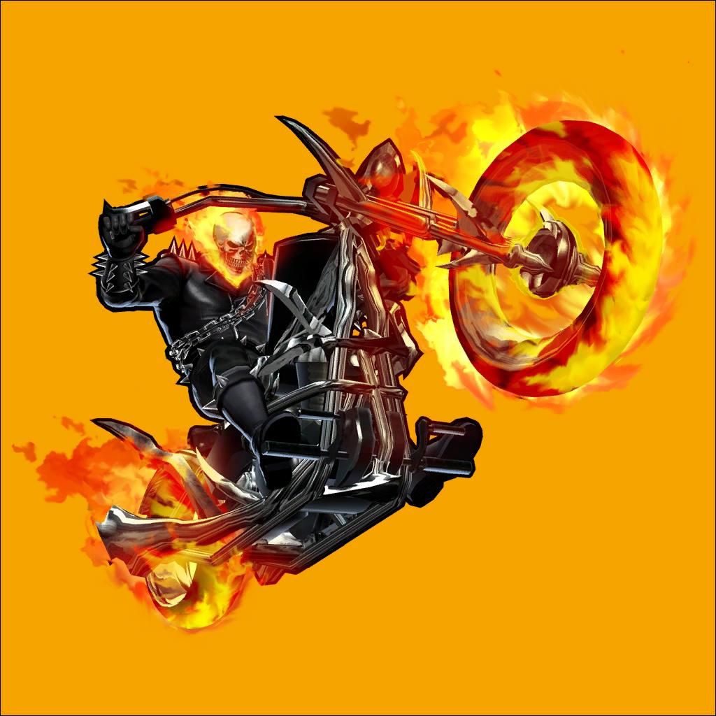 Ghost Rider Bike PNG File SVG Clip arts