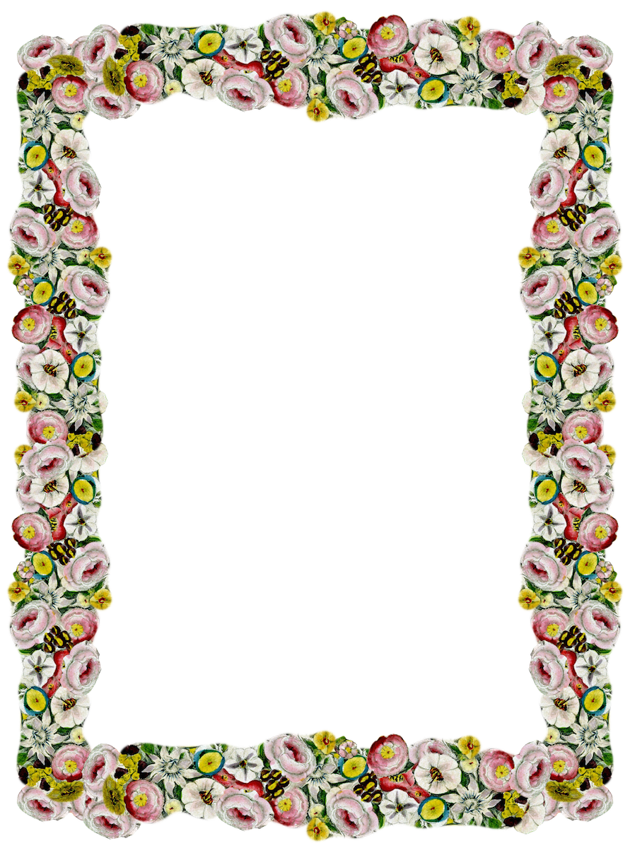 Girly Border PNG Pic PNG file