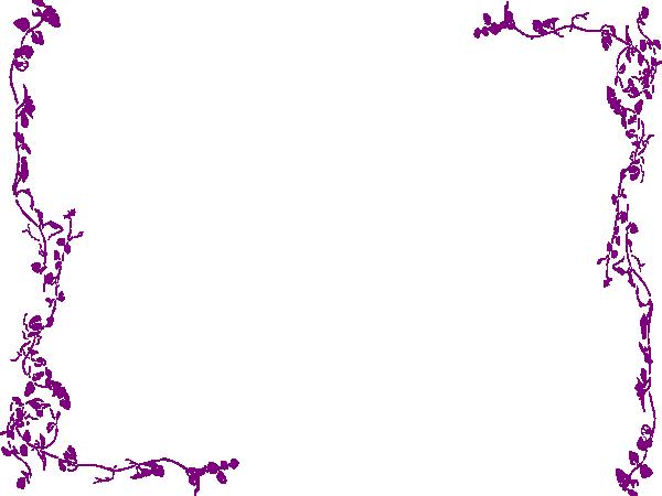 Girly Border PNG Transparent Image SVG Clip arts