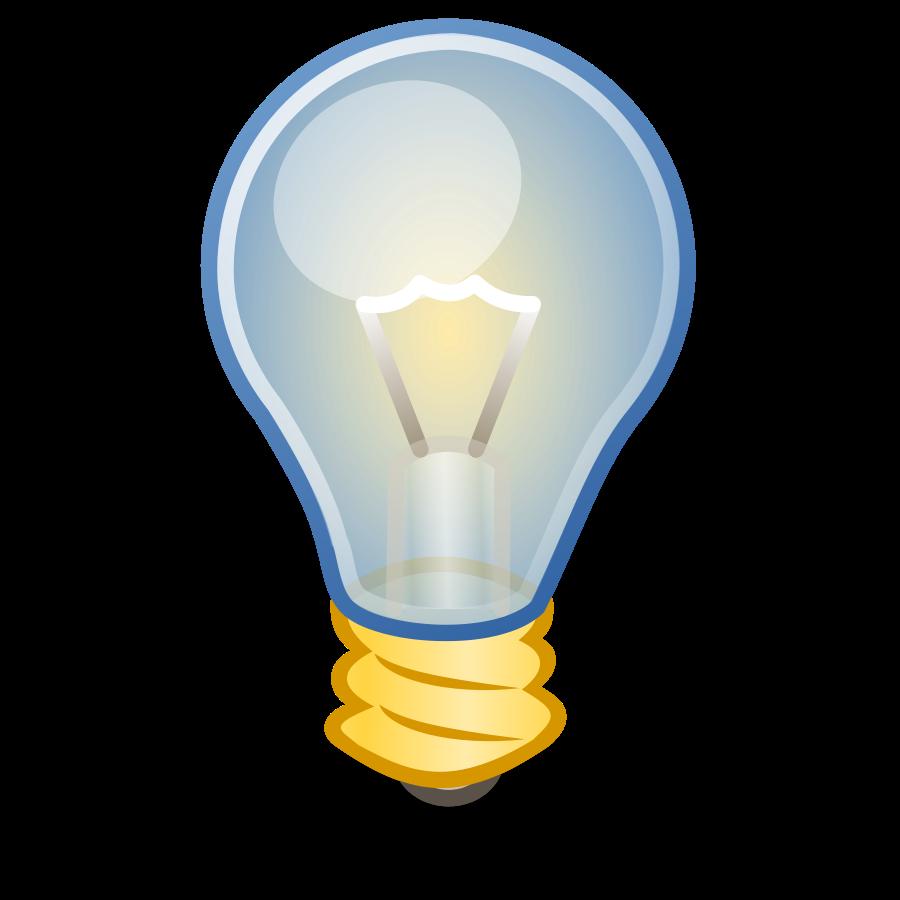 Glowing Bulb PNG Transparent Image SVG Clip arts