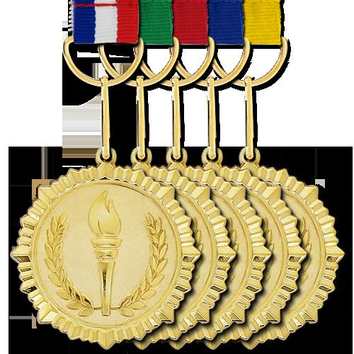 Gold Medal Background PNG SVG Clip arts