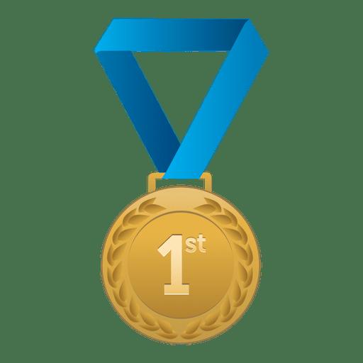 Gold Medal PNG Clipart SVG Clip arts
