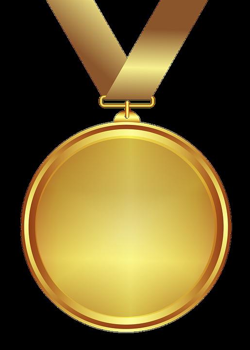 Gold Medal PNG Transparent SVG Clip arts