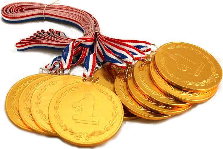 Gold Medal Transparent PNG SVG Clip arts