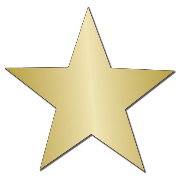 Gold Star Sticker PNG Image SVG Clip arts