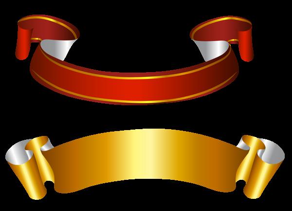 Golden Ribbon PNG Free Download SVG Clip arts