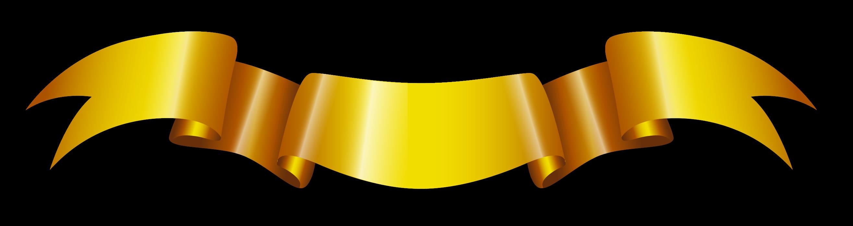 Golden Ribbon PNG Transparent Image SVG Clip arts