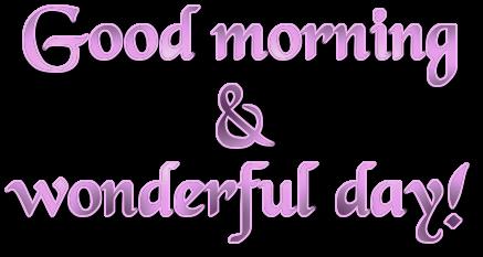 Good Morning PNG File SVG Clip arts