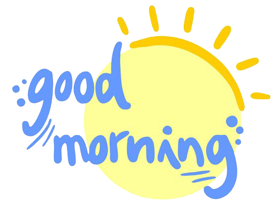 Good Morning PNG Image SVG Clip arts