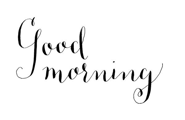 Good Morning PNG Photo SVG Clip arts