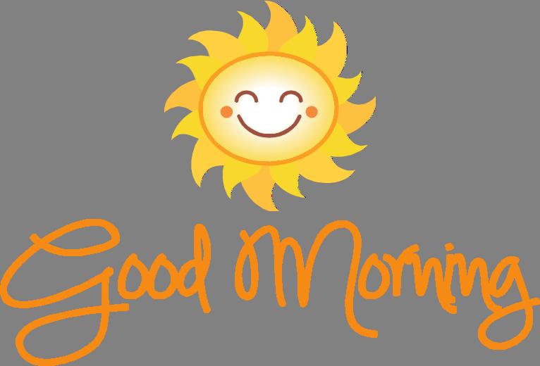 Good Morning PNG Transparent Picture SVG Clip arts