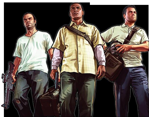 Grand Theft Auto V PNG Picture SVG Clip arts