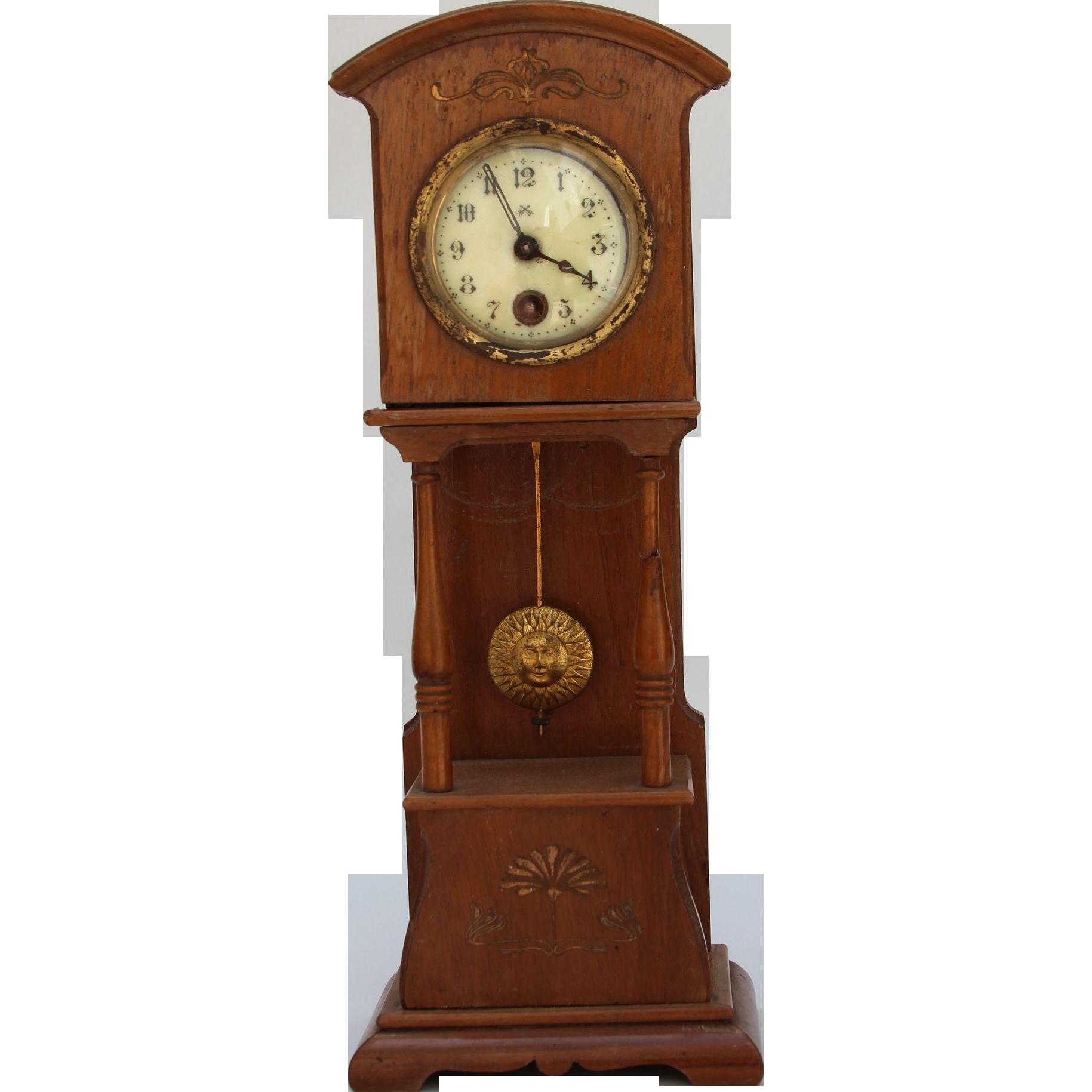 Grandfather Clock PNG Transparent Image SVG Clip arts