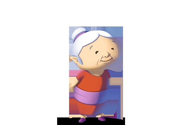 Grandmother Transparent PNG SVG Clip arts
