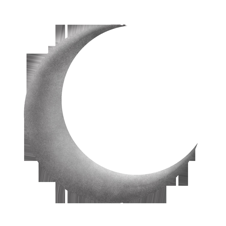 Half Moon PNG Transparent Image SVG file
