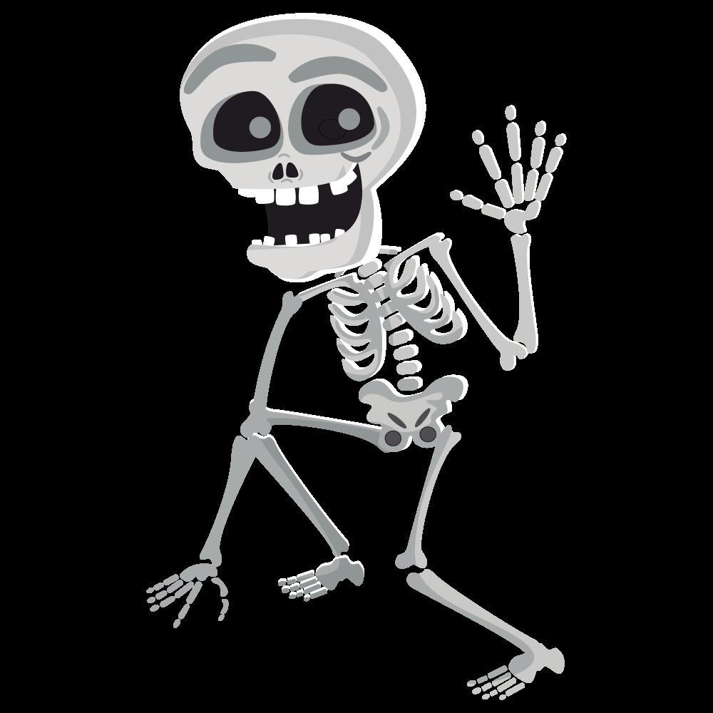 Halloween Skeleton PNG Free Download SVG Clip arts