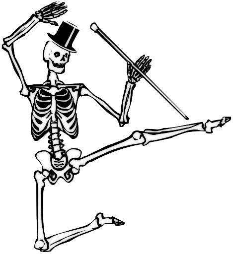 Halloween Skeleton PNG Image SVG Clip arts