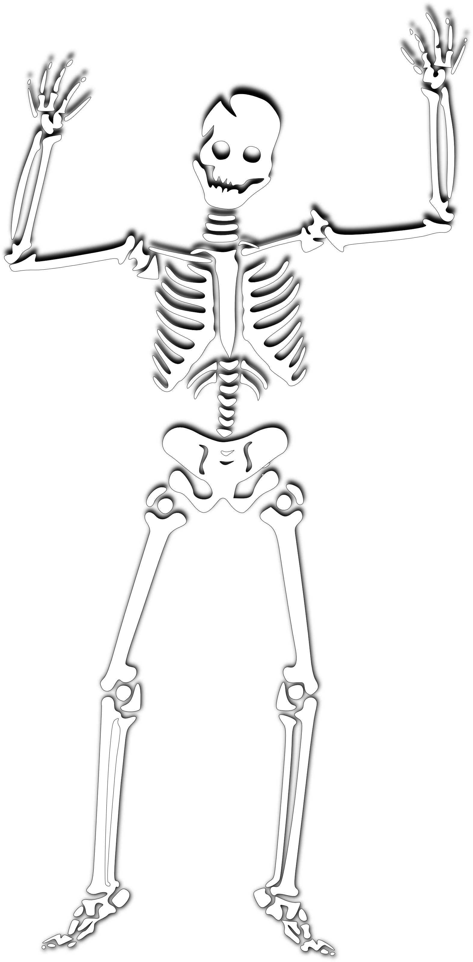 Halloween Skeleton PNG Photos SVG Clip arts