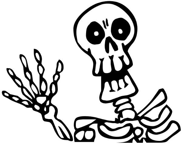 Halloween Skeleton PNG Picture SVG Clip arts