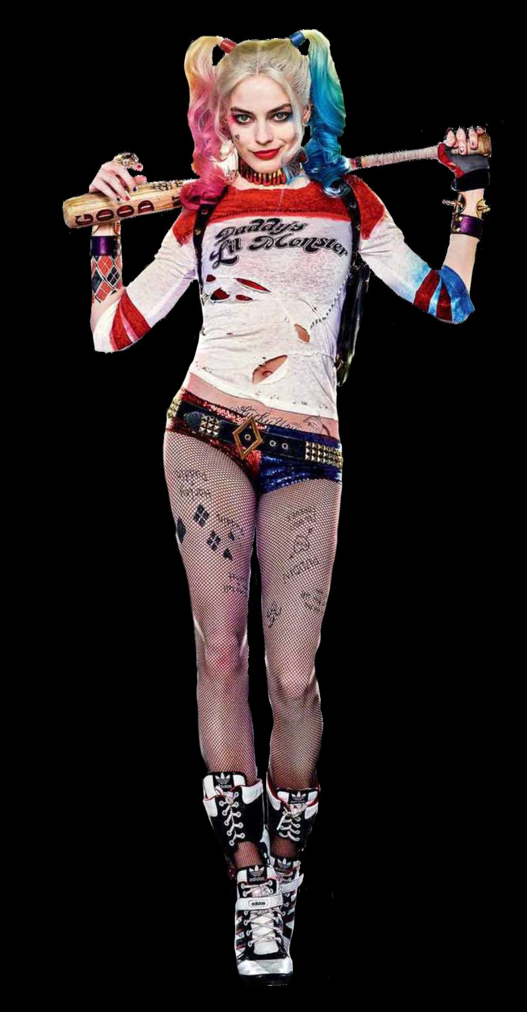 Harley Quinn Transparent Background SVG Clip arts