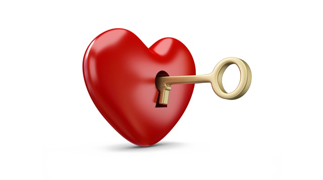 Heart Key Transparent PNG SVG Clip arts