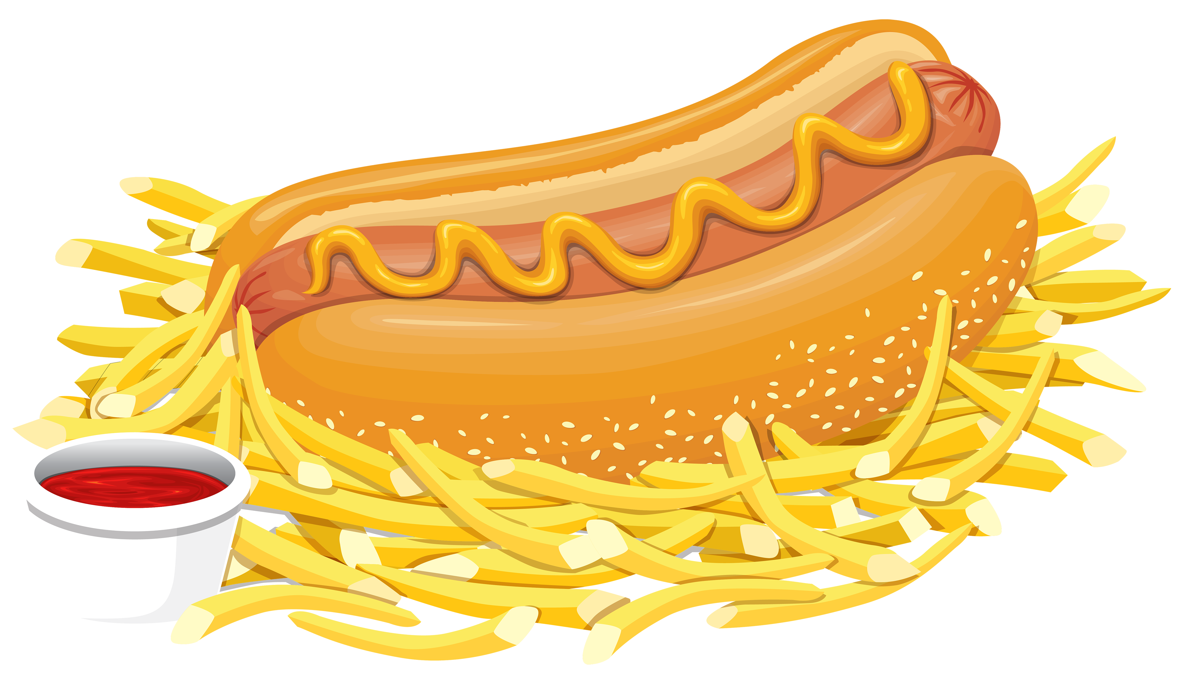 Hot Dog PNG Transparent File SVG Clip arts